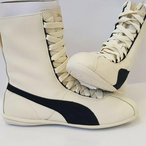 Puma Shoes   Wns Eskiva Hi Shoe Whisper